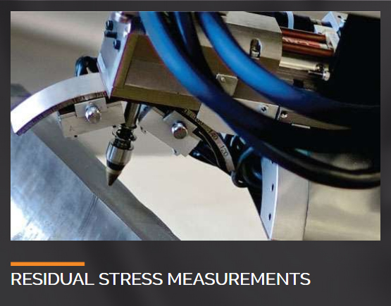 Residual stress measurement widget.
